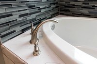 Tub Faucet and backsplash